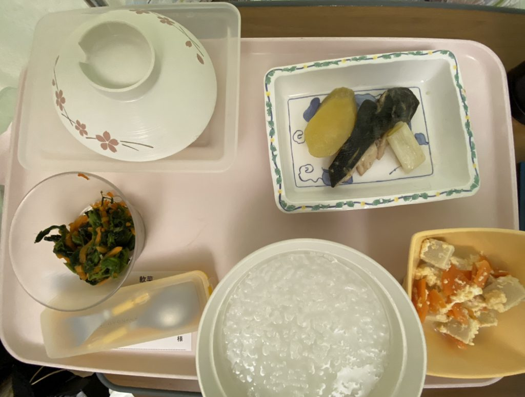 病院食2日目夜